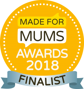 Finalist in the Made For Mum's Awards 2018