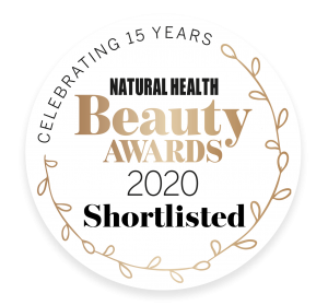 Shortlisted In The Natural Health Awards 2020