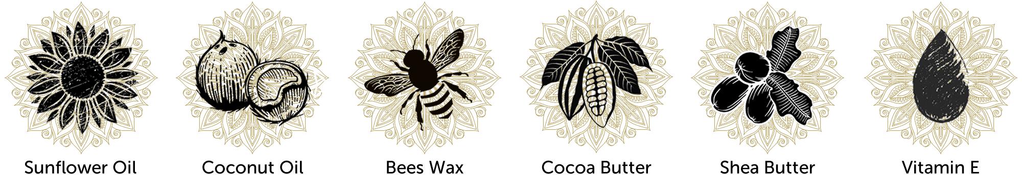 Mumanu Organic Massage Oil & Body Balm - Shea Moisturiser With Fairtrade Ingredients