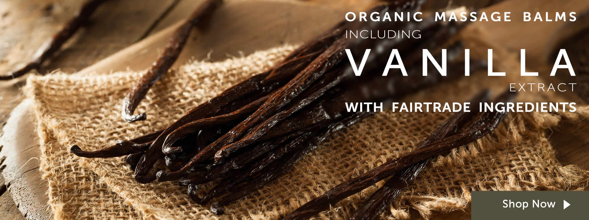 Mumanu Organic Massage Oil & Body Balm With Vanilla - Shea Moisturiser & Ethcial Skin Care - With Fairtrade Ingredients
