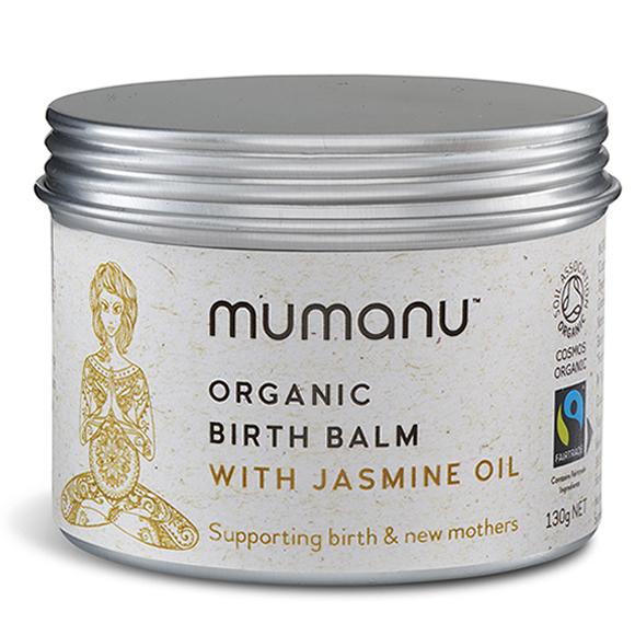 Mumanu Organic Birth Balm - With Jasmine Oil To Induce Labour