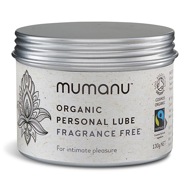 Mumanu Organic Personal Lube - Fragrance Free - With Fairtrade Ingredients