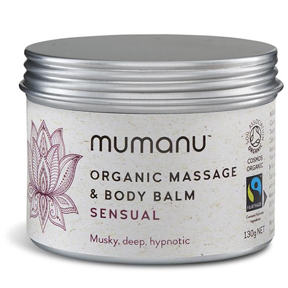 Mumanu Organic Sensual Massage Oil With Fairtrade Ingredients