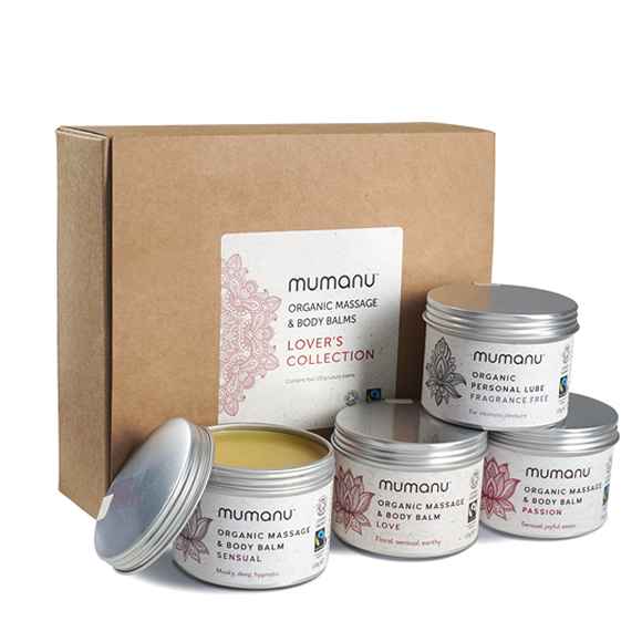 Mumanu Organic Lovers Collection with Fairtrade Ingredients