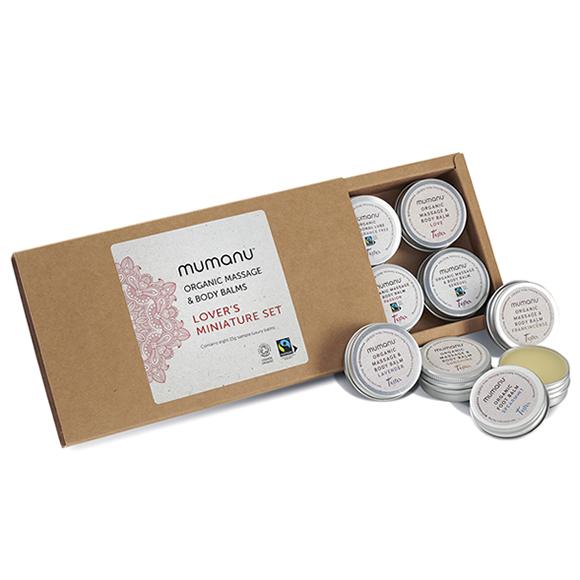 Mumanu Organic Lover's Miniature Set